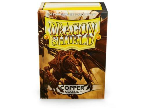 10/% OFF 2+ Copper Classic 100 ct Dragon Shield Sleeves Standard FREE SHIPPING