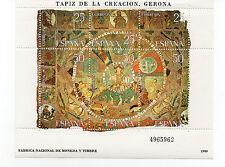 España : 1980 Edifil 2591 TAPIZ DE LA CREACIÓN GERONA HB Nueva ( MNH )