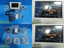 2013 Spacelabs Ultraview Dm3 Monitor With Spo2tempnbp Leads Adapter 20076