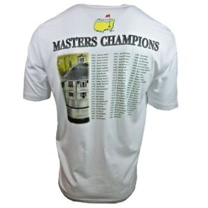 Masters-Champions-Men-039-s-T-shirt-2015-Augusta-Golf-Tournament-Tiger-Woods-NWT