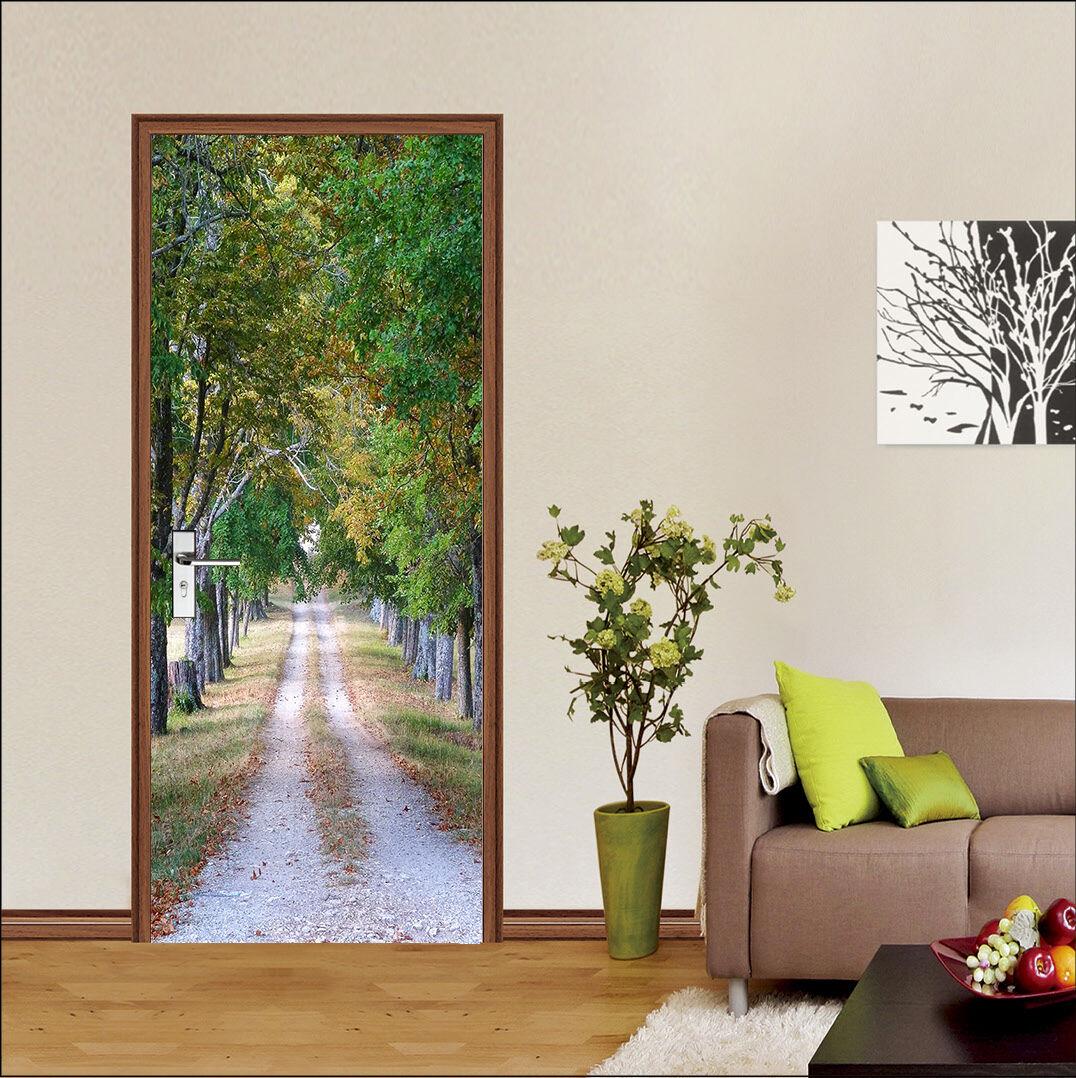 3D 3D 3D Die Bäume 88 Tür Wandmalerei Wandaufkleber Aufkleber AJ WALLPAPER DE Kyra 82f3dc