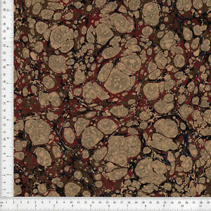 Hand-Marbled-Paper-60x86cm-24x34in-Bookbinding-Restoration-Series