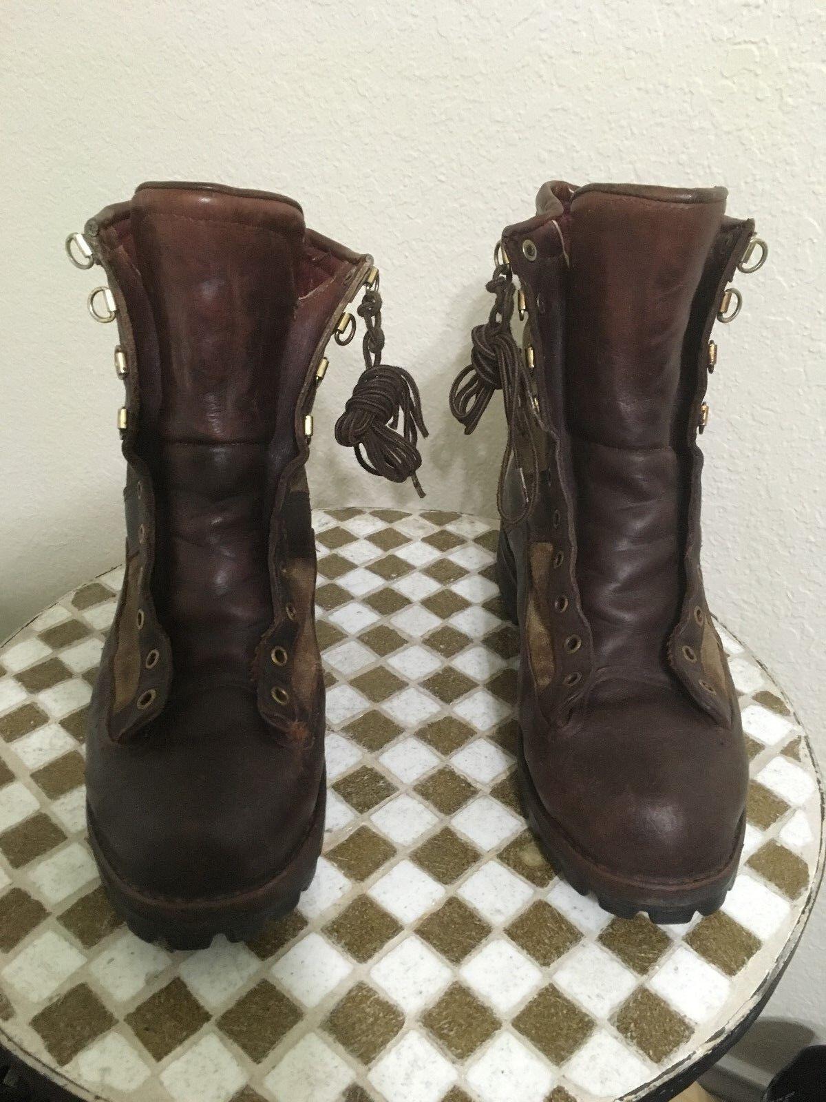 Estilo vintage con aspecto envejecido DANNER leathertrucker botas de trabajo 10 M