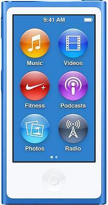 Apple iPod Nano 8th Generation 16GB Blue Grade B- 2015 iPod Nano 12 Months