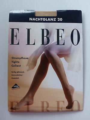 ELBEO Strumpfhose Nachtglanz 20  transparent und glänzend 20 DEN