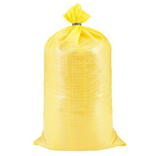 14x26in Yellow Sandbag Sand Bag secure 10x10 ezup tent or other item