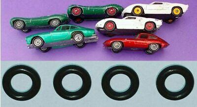 Tyres for Matchbox Regular Wheels Jaguar 32b 41b Ford GT40 41c Ferrari 75b