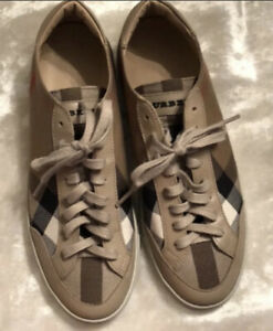 Burberry Sneakers Sz 38 | eBay