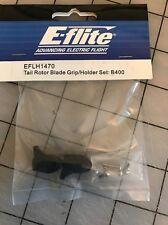 E-Flite Tail Rotor Blade Grip/Holder Set Blade 400