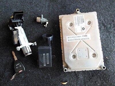 2011 2012 200 AVENGER 2.4L 4 SPD AT COMPUTER BRAIN ENGINE CONTROL ECU ECM MODULE