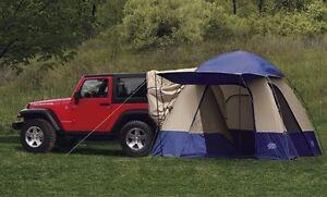 Image is loading 01-18-Chrysler-Dodge-Jeep-New-Recreation-Tent- & 01-18 Chrysler Dodge Jeep New Recreation Tent 10u0027 x 10u0027 Attachable ...