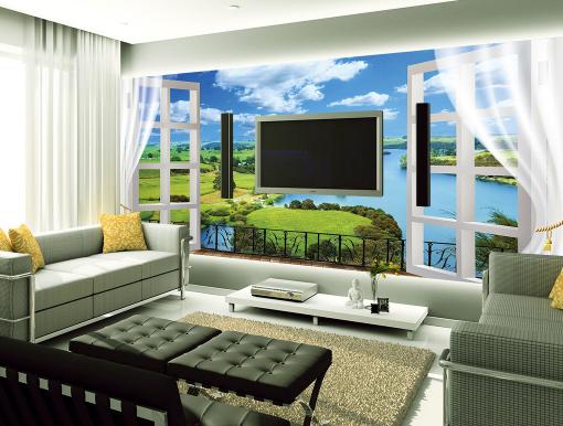 3D Prairie Window 88 Wall Paper Murals Wall Print Wall Wallpaper Mural AU Kyra