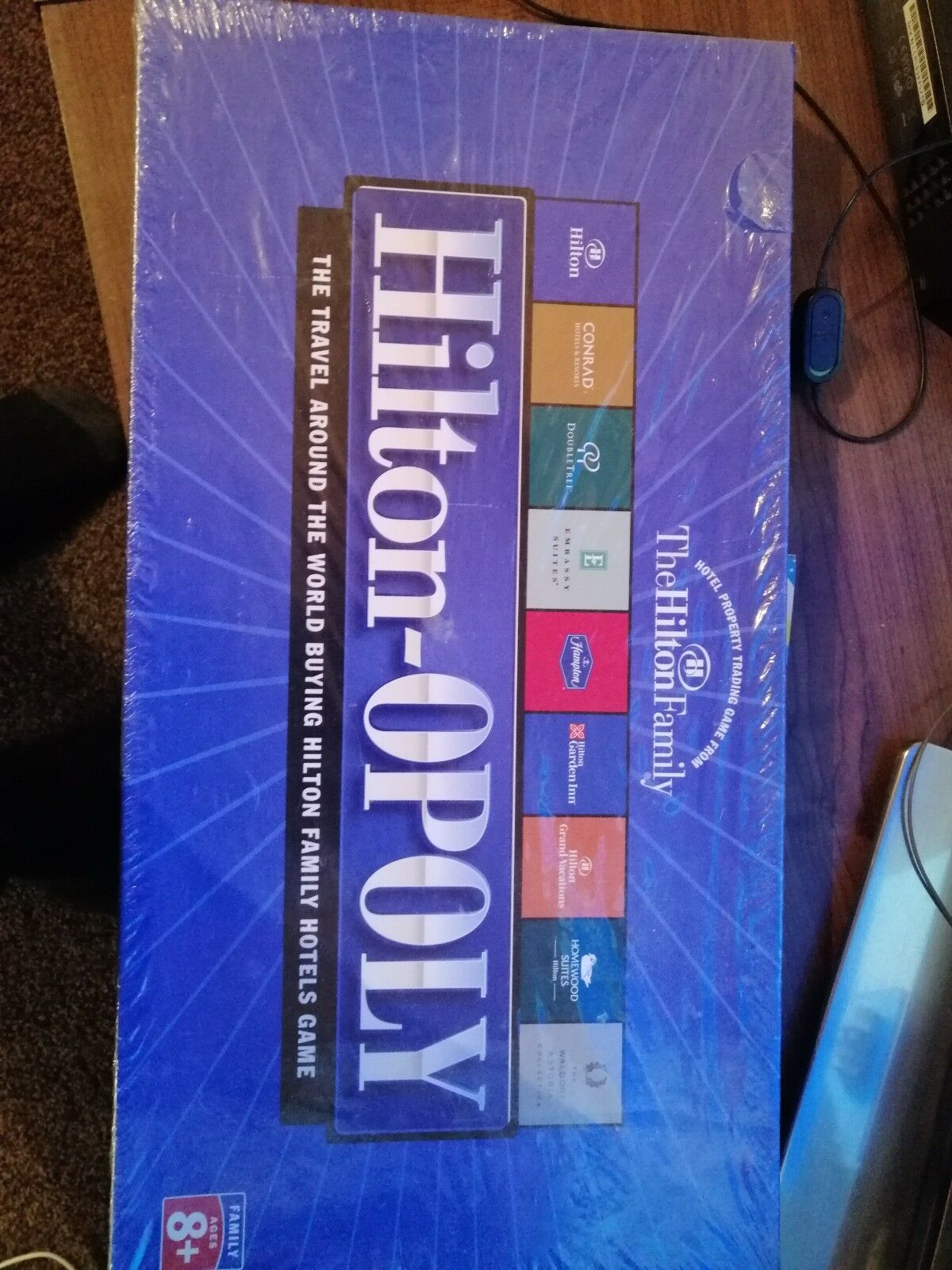 Hiton-opoly very rare, collectors edition brand new sealed