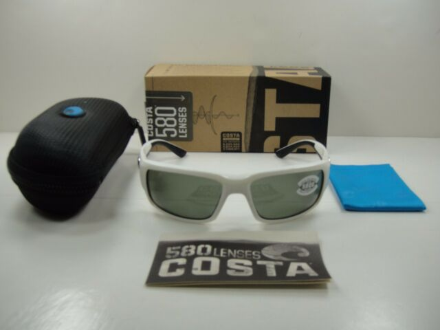 ae38d7440d Costa Sunglasses Fantail 580g White Gray TF 25 OGGLP for sale online ...