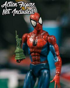 Mezco Yellow Spider-Man Senses EFFECT ONLY Mafex Marvel Legends 1//12