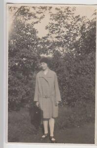 (f24842) Orig. Photo Vide, Jeune Femme Dans Le Jardin A. Plytenberg 1929-afficher Le Titre D'origine