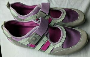TSUBO-Mary-Jane-Sneakers-size-9-40-Pink-amp-Gray