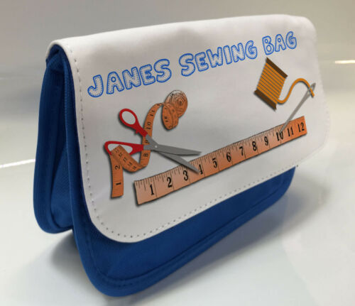 Personalised sewing organiser bag ideal for threads needles ideal christmas gift