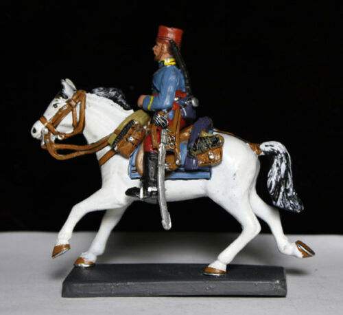 """Cavalryman 1ST Reg /""""Chasseurs D/'Afrique/"""" FRANCE 1912 Mounted 54mm Toy Soldier"""