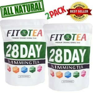 Herbal 28 Day Colon Detox Slimming Fat Burning Weight Loss All Natural TEA