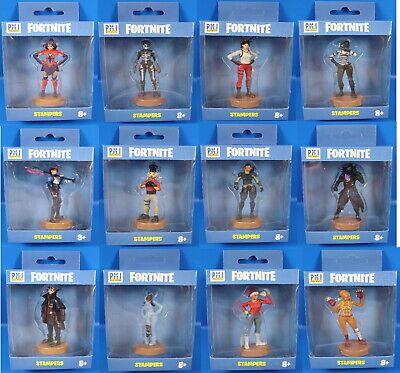 Fortnite 5 personnages avec cachet série 1//pack 3