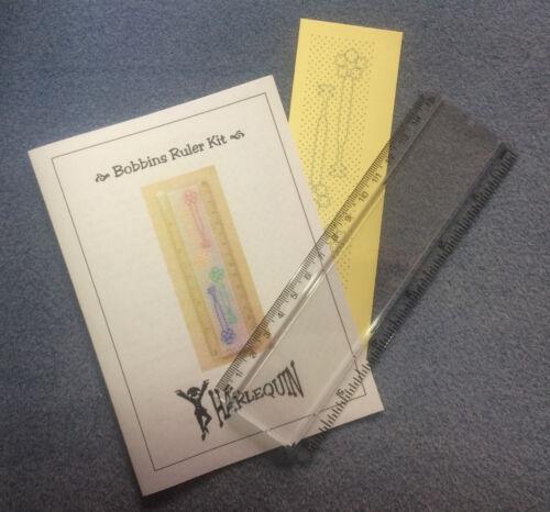 """3 Nouveaux Designs par Harlequin dentelle rapide Kits DENTELLE au FUSEAU 6/"""" dirigeant Insert Kit"""