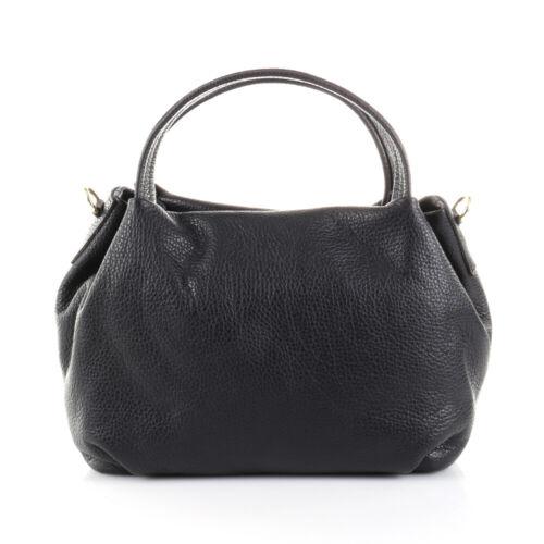 Shopper Schulter Umhänge Hand Tasche Italy Leder Crossover Bag Borse Pelle NEU