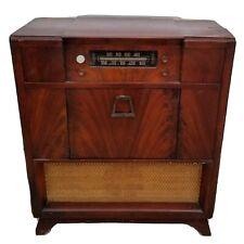 Vintage Philco Tube Console Model Radio Amp Record Player