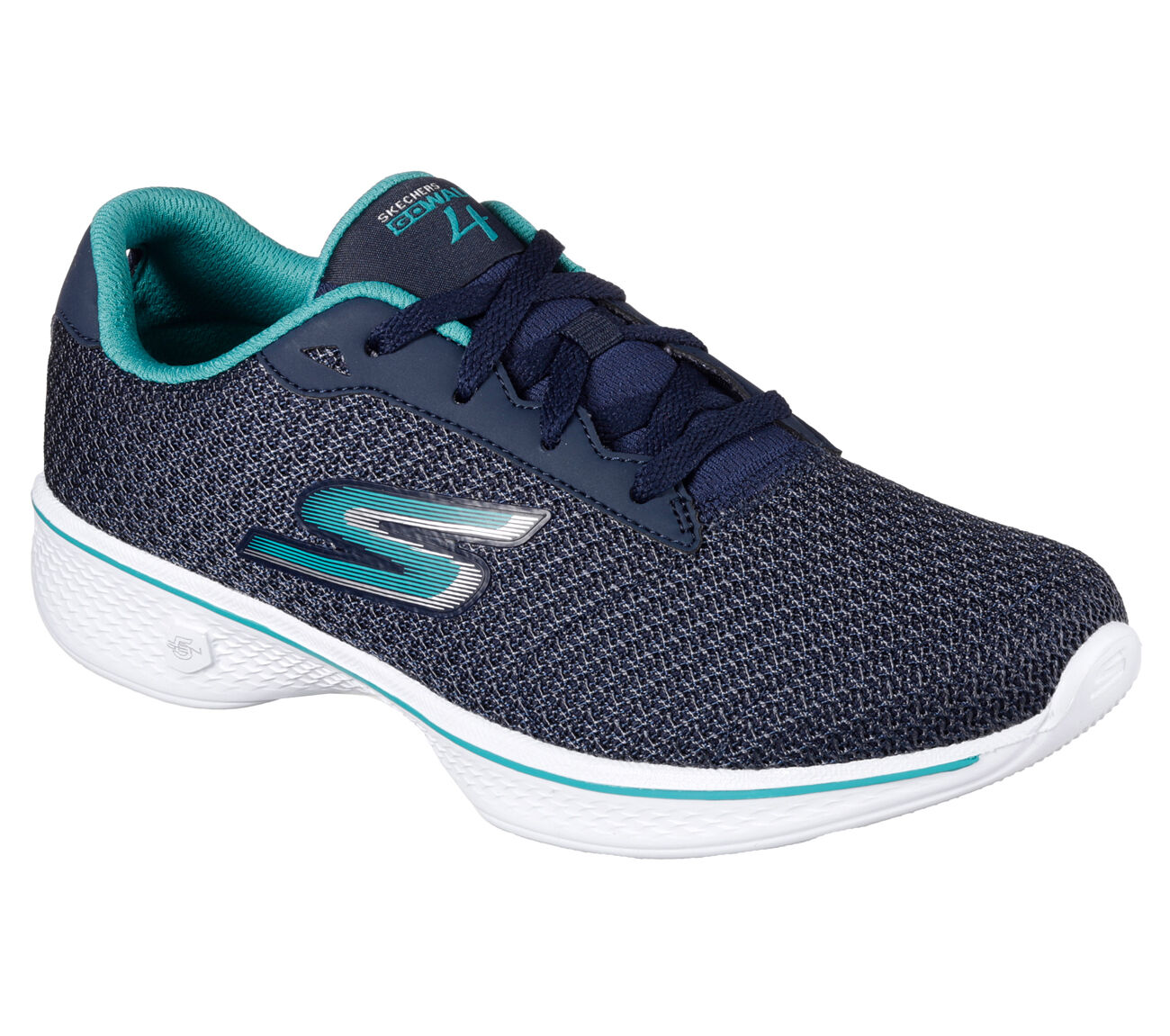 Women's Skechers Gowalk 4 Glorify Walking Shoes US-6 Navy