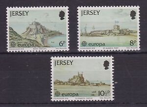 Details about JERSEY MNH UMM STAMP SET 1978 SG 187-189 EUROPA MONUMENTS  CASTLES