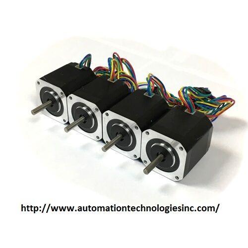 4pcs  NEMA17 BIPOLAR STEPPER MOTOR 76 oz-in for 3D Printer from chicago