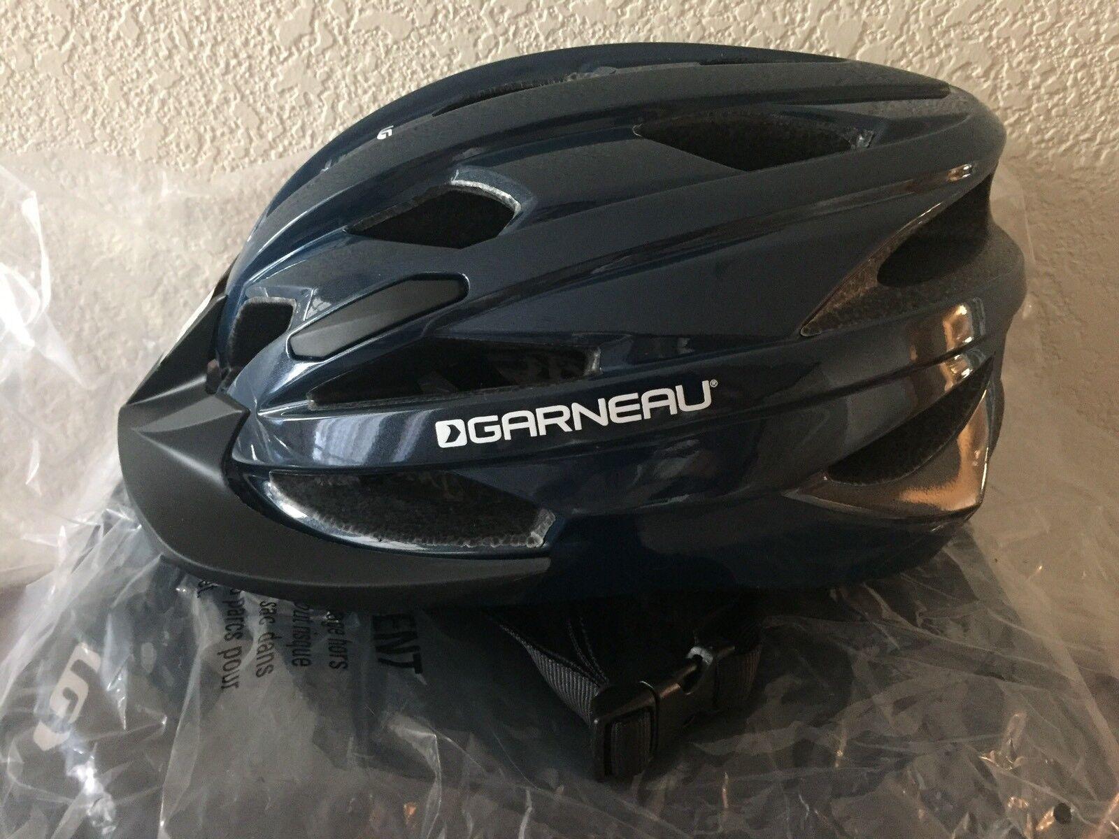 Garneau Cycling Bicycle Helmet Eagle UA Navy bluee -  Brand New  timeless classic