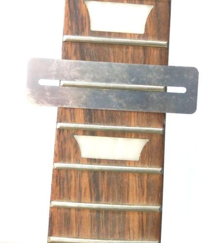Fretboard Guard Griffbrett Schutzabdeckung dünnes Edelstahlblech Schutzblech