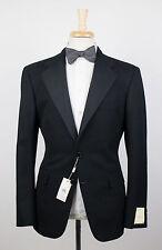 New. RALPH LAUREN RRL DOUBLE RL Black Wool 2 Button Tuxedo Suit 52/42 R $1200