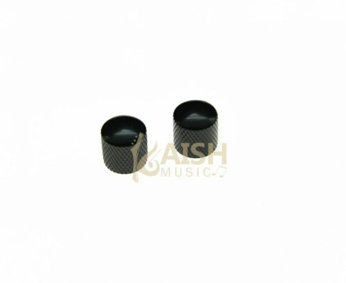 KAISH Guitar Bass Dome Knobs Metal Knobs Guitar Parts