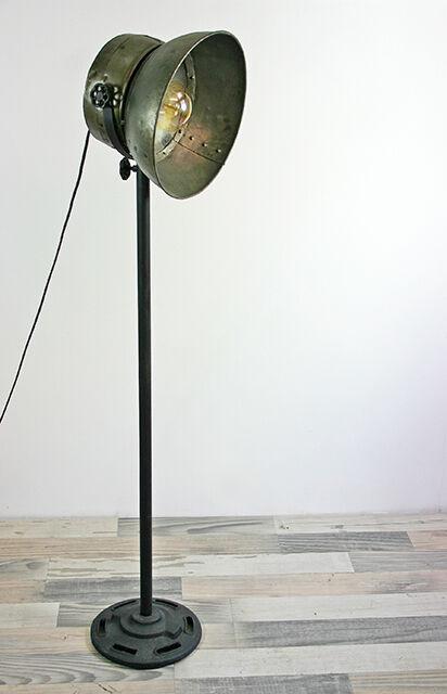Stehlampe Stehleuchte vintage Loft Metall Industrielampe verstellbar Industrie