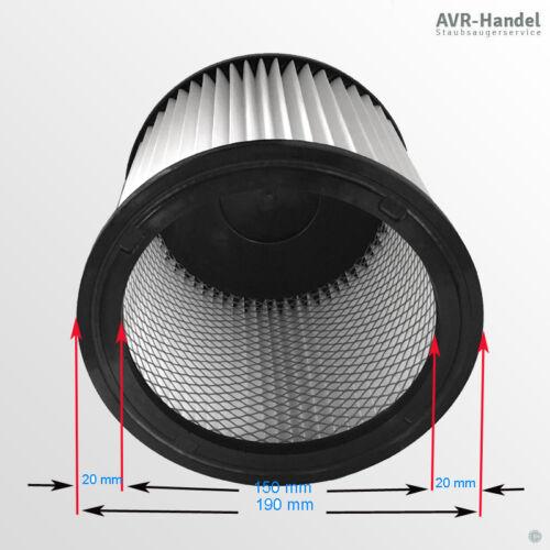 Filter Patrone Nass Trockensauger passend für Rowenta Wet /& Dry Kesselsauger