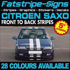 CITROEN SAXO STRIPES CAR VINYL GRAPHICS DECALS STICKERS VTR VTS 1.4 1.5 1.6 D