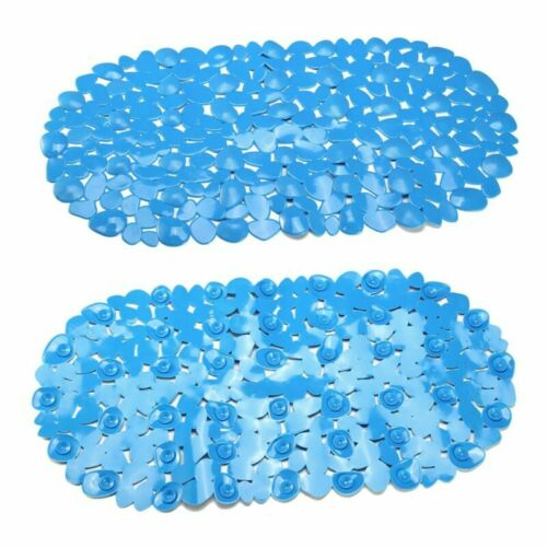 Bath Shower Mat Pebble Non Slip Anti-Bacterial Bathtub Mat With Suction Cups