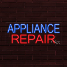Brand New Appliance Repair 32x13x1 Inch Led Flex Indoor Sign 31350