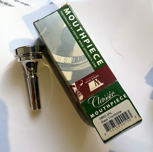 DENIS-WICK-3AL-CLASSIC-BASS-TROMBONE-MOUTHPIECE-NEW-BOXED-SILVER-PLATE
