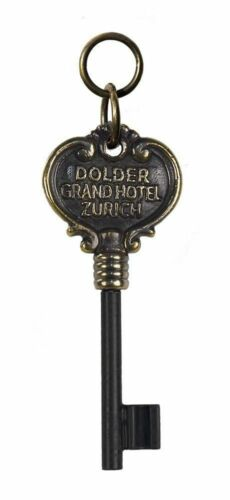 Alter Bronze Hotelschlüssel Schlüssel des Grandhotel Dolder in Zürich