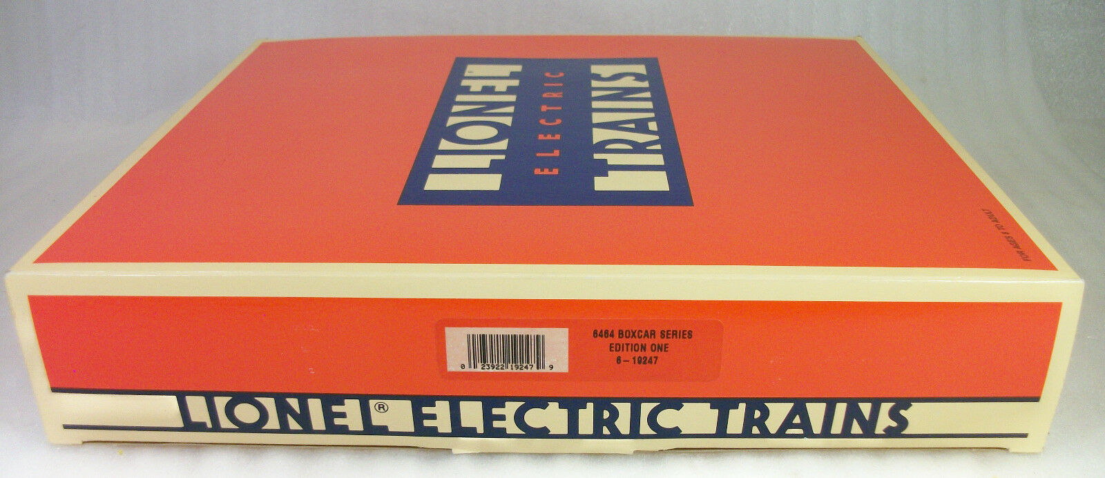 LIONEL 19247 RARE SERIES 1 of THE 6464 BOX CARS CIRCA 1993 MINT OBs + MASTER BOX