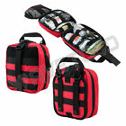 VISM NcSTAR Rip Away EMT Military MOLLE Utility Pouch Medic Bag Aid Kit Red