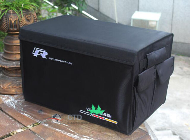NEW Boot Trunk Organizer Collapsible Folding Storage Bag Box For Volkswagen