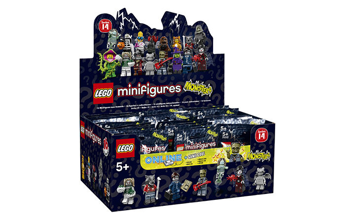LEGO-Série 14 Monstres minfigures  (71010) - Boîte scellée DE 60 CMF  sortie en ligne
