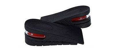 Men Women Shoe Insole Air Cushion Heel insert Increase Tall Height Lift 5cm FINe