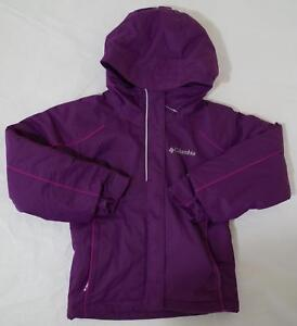 49a246587 Columbia Frozen Creek Jacket Omni Heat Waterproof Girl size XXS(4 5 ...