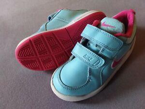 Nike Details Klett Sneaker türkis Turnschuhe zu 26 Mädchen pink xsCthQrdB