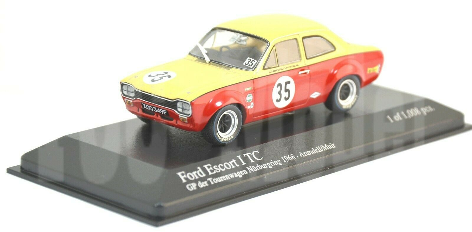 M1453 Minichamps 1 43 - 1968 Ford Escort I TC Arundell Muir - Ltd.Ed.
